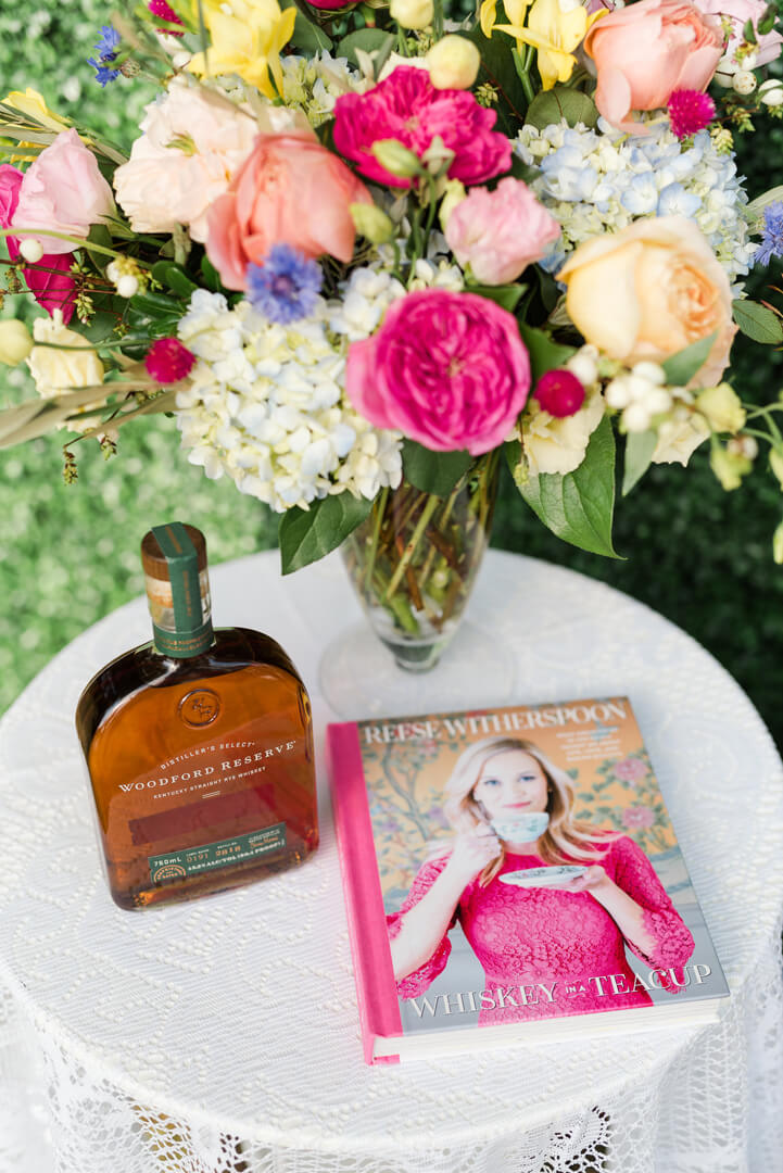 "Whiskey in a Teacup Magazine and Woodford Reserve Whiskey from ""Whiskey in a Teacup"" Ladies Brunch Styled by Event Prep 