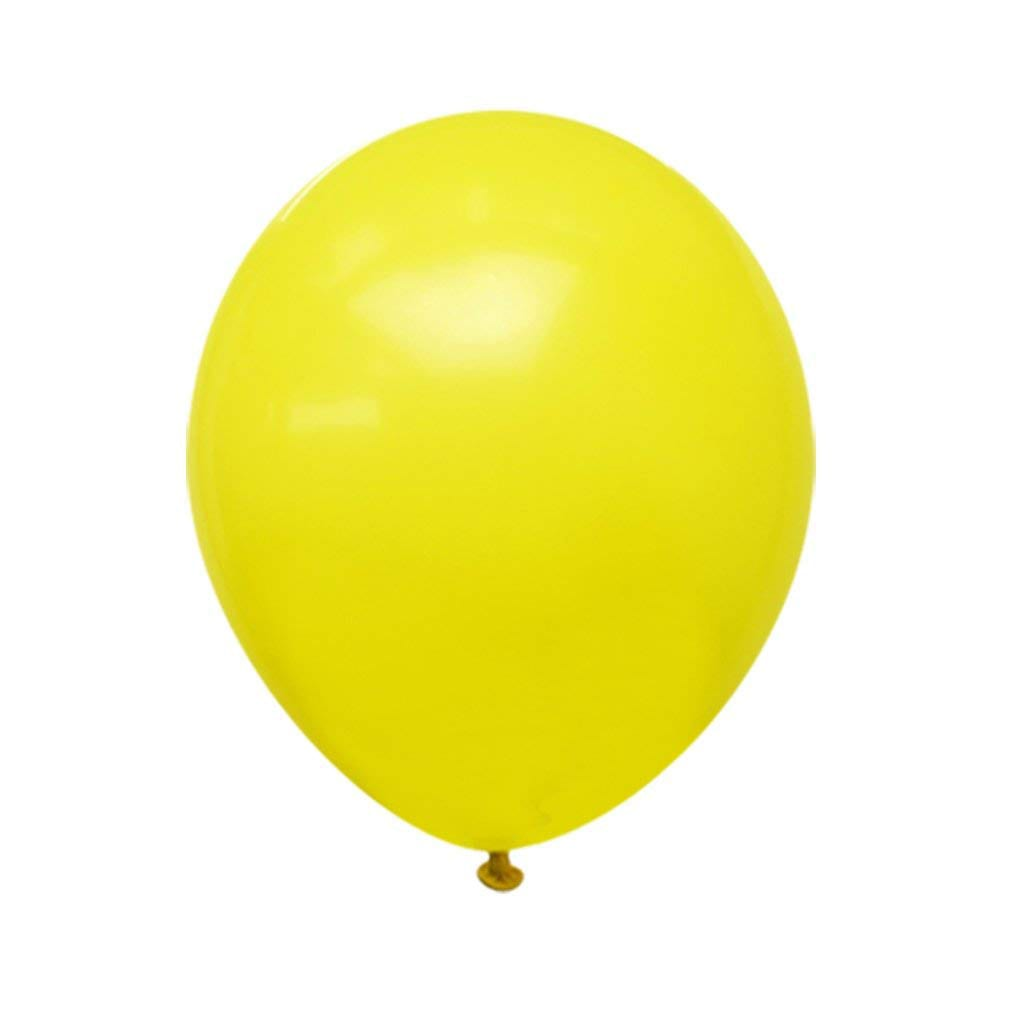 "5"" Yellow Balloons"