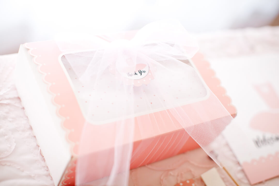 Favor Box from Ballet Party Styled by Kiss Me Kate Studio | Black Twine