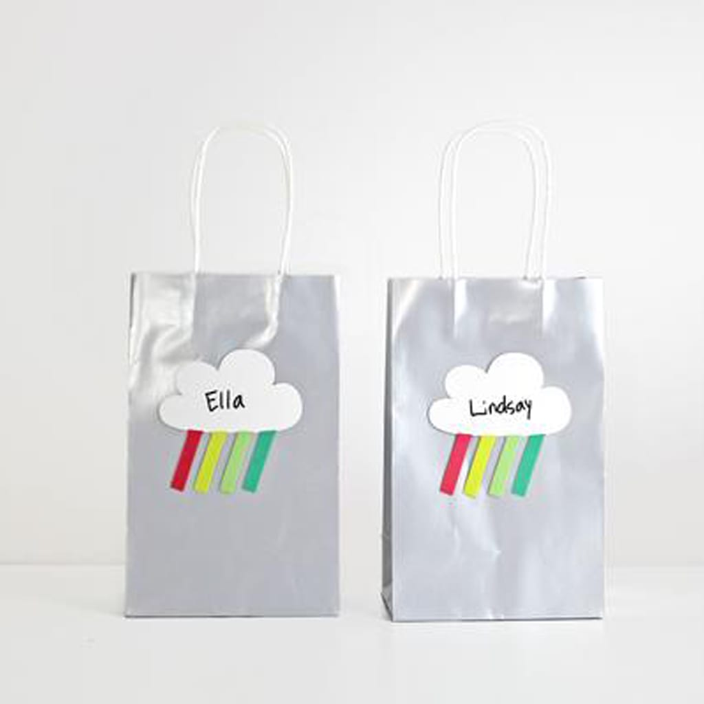 Cloud Favor Bags from Merrilulu