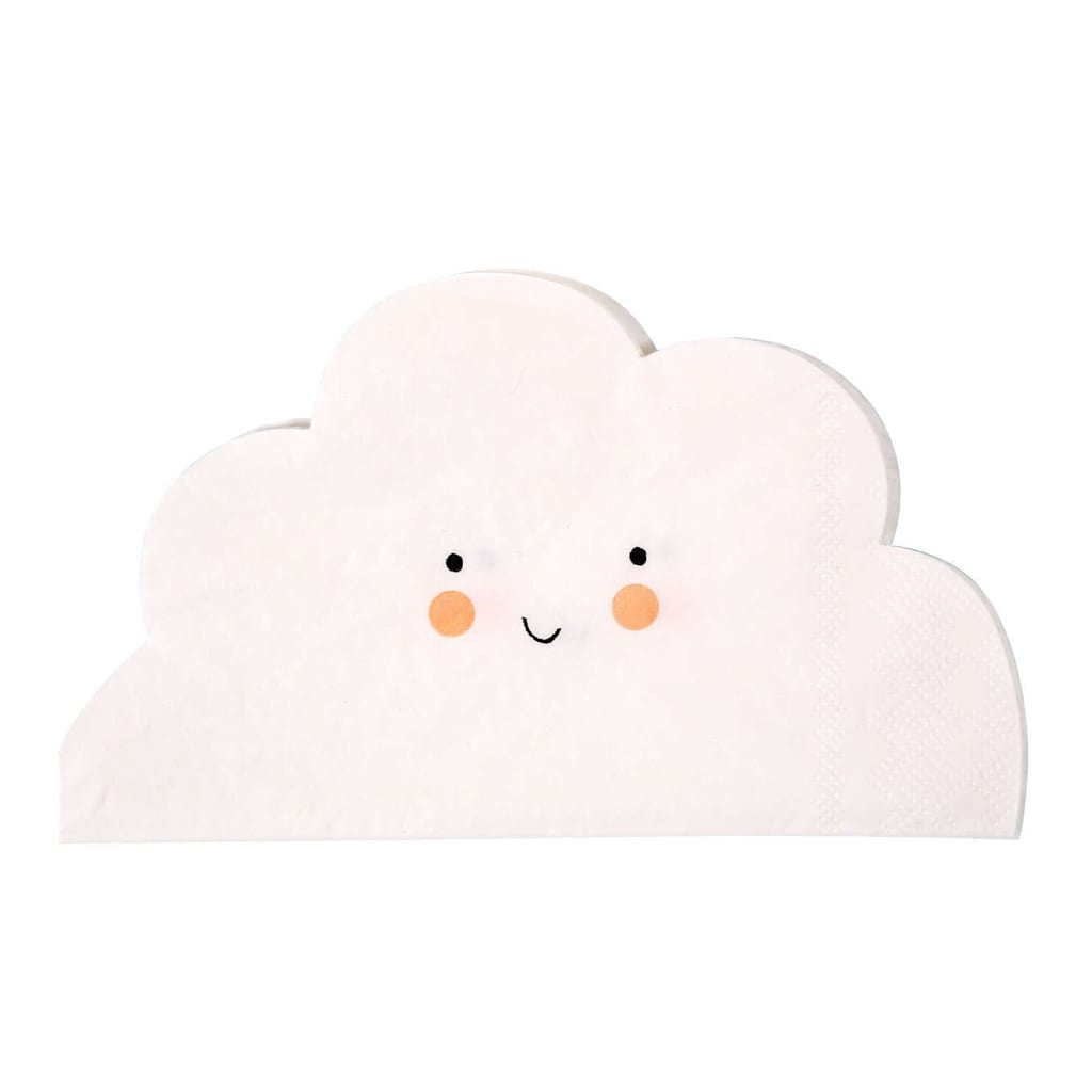 Small Cloud Napkins from The Party Darling Shop
