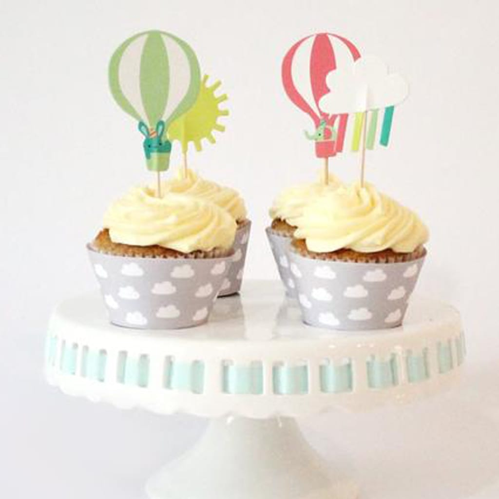 Cupcake Toppers from Merrilulu
