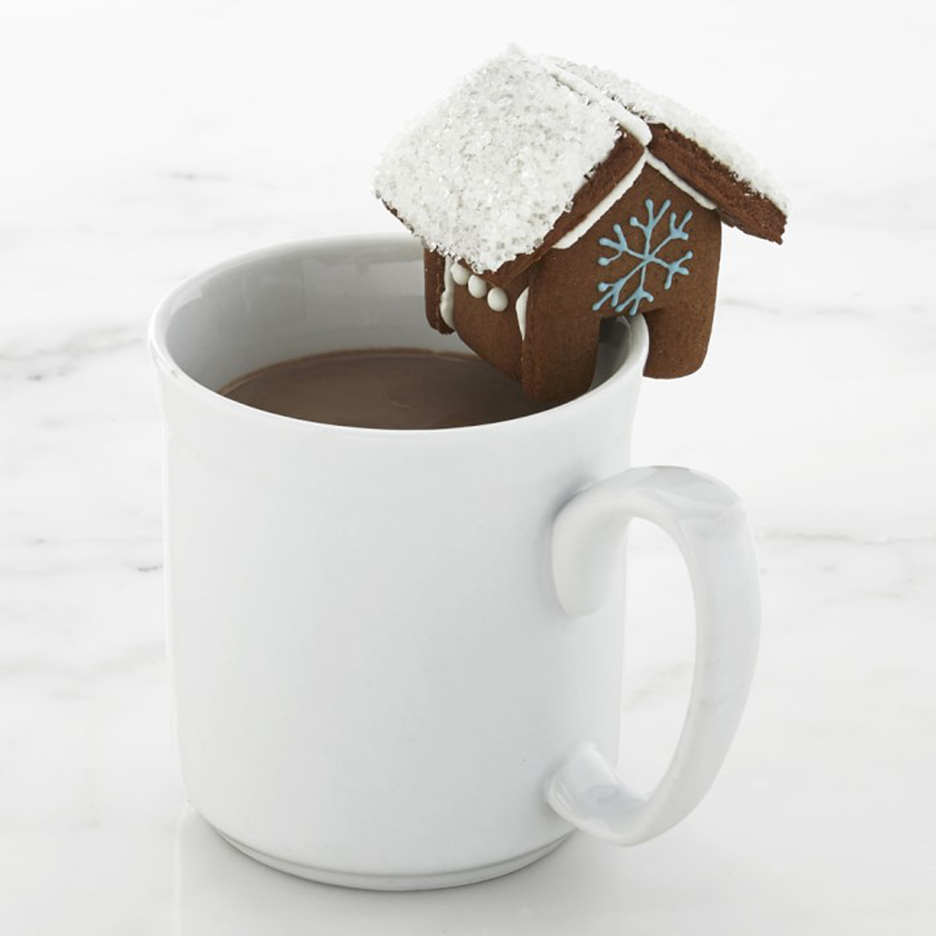 Gingerbread House Cup Toppers