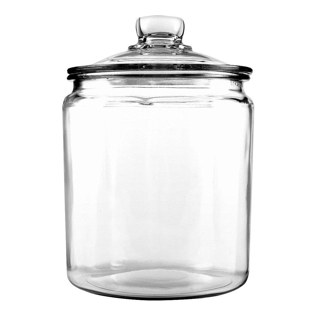 Glass Jars from Target