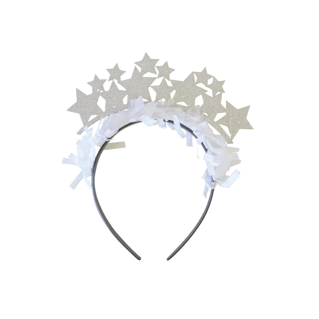 Gold and Silver Stars Party Headbands from Bracket