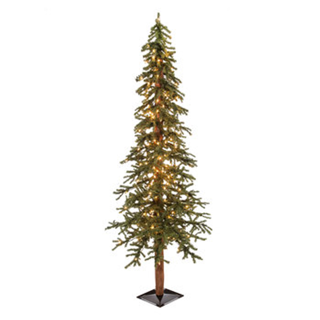 6' Green Alpine Pre-Lit Christmas Tree from Hobby Lobby