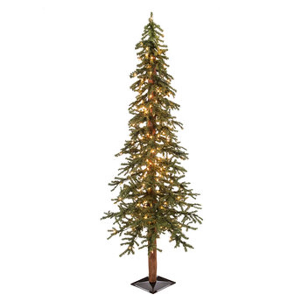 6' Green Alpine Pre-Lit Christmas Tree from Hobby Lobby