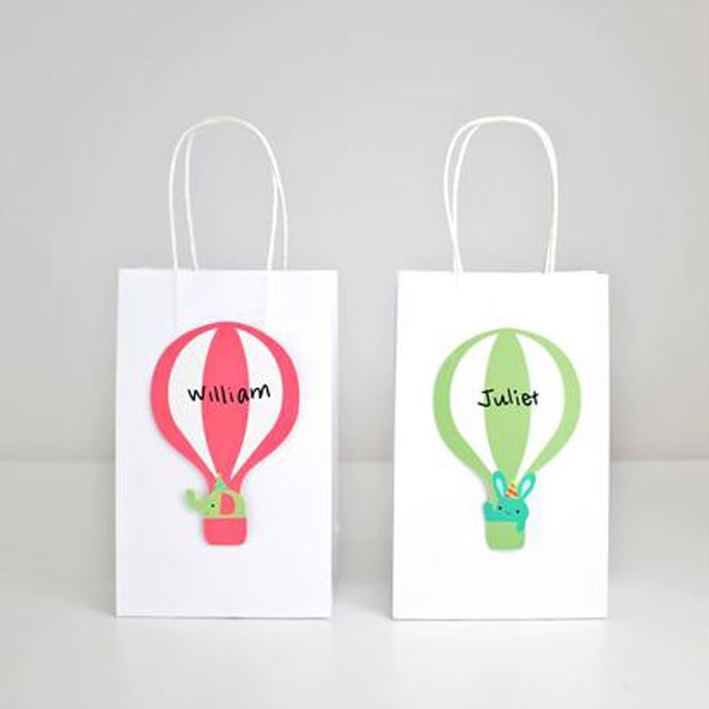 Hot Air Balloon Favor Bags from Merrilulu