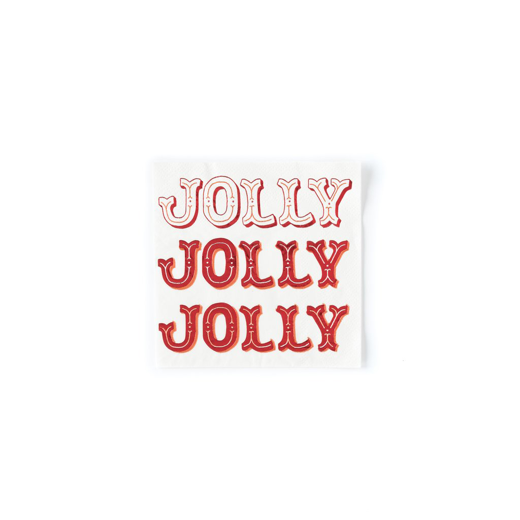 HOLIDAY JOLLY NAPKIN from My Mind's Eye