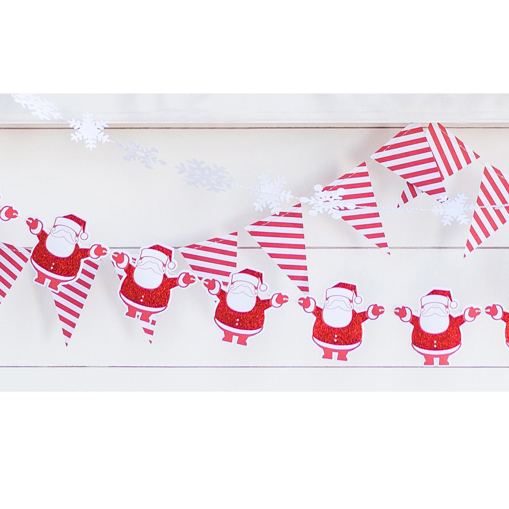 SNOWFLAKE BANNER from My Mind's Eye Paper Goods