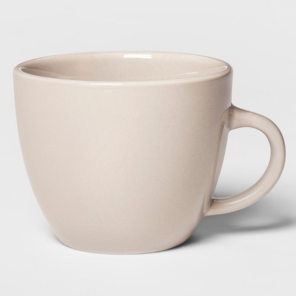 17oz Avesta Stoneware Mug Taupe