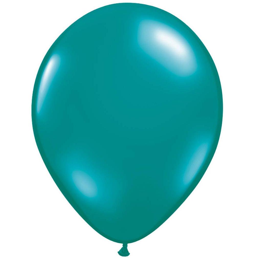 "Teal 11"" Balloons"
