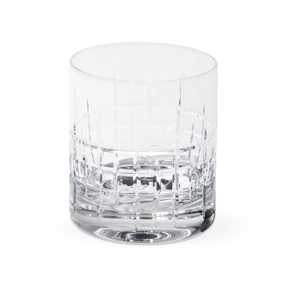 Fortessa Distil Old-Fashioned Glass from Caspari