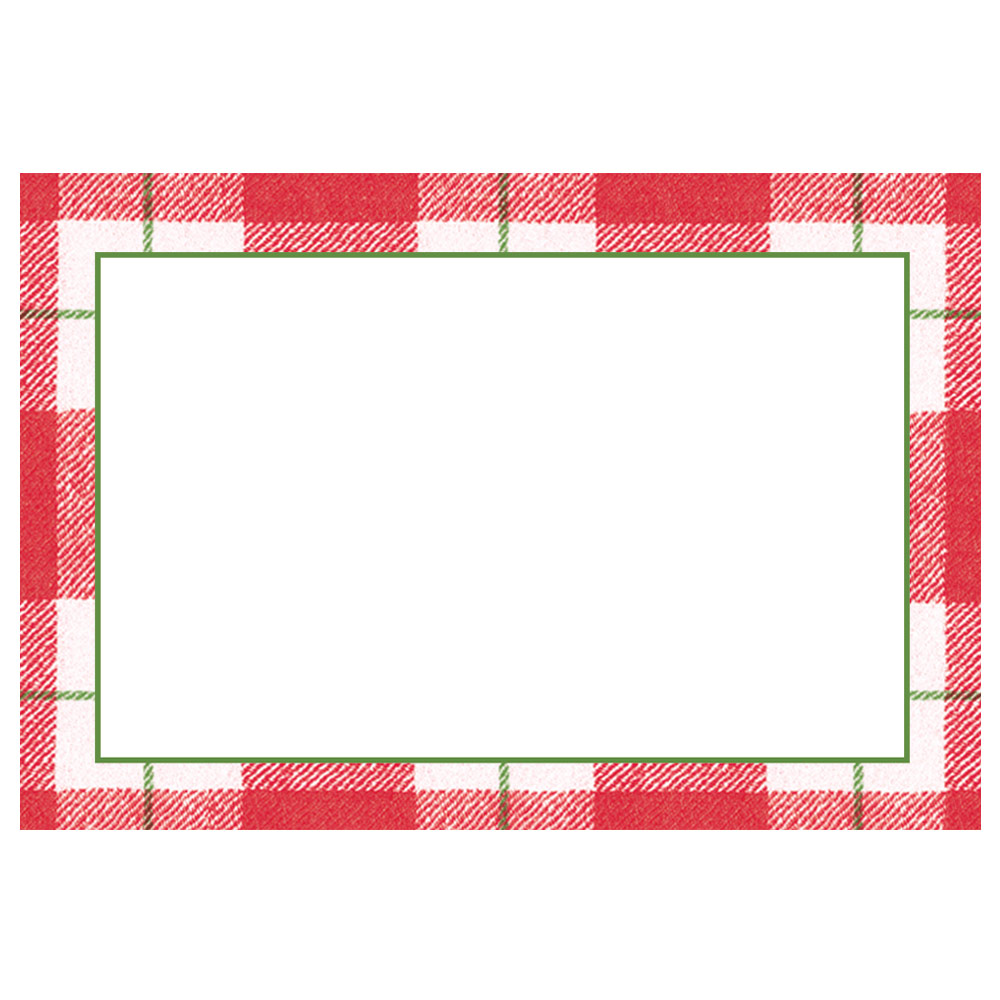 Place Cards in Red from Caspari