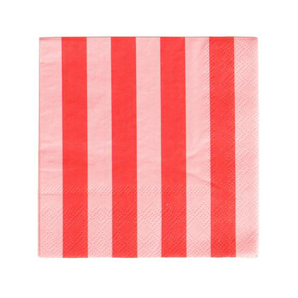 Pink and Red Napkins from Geese & Ganders