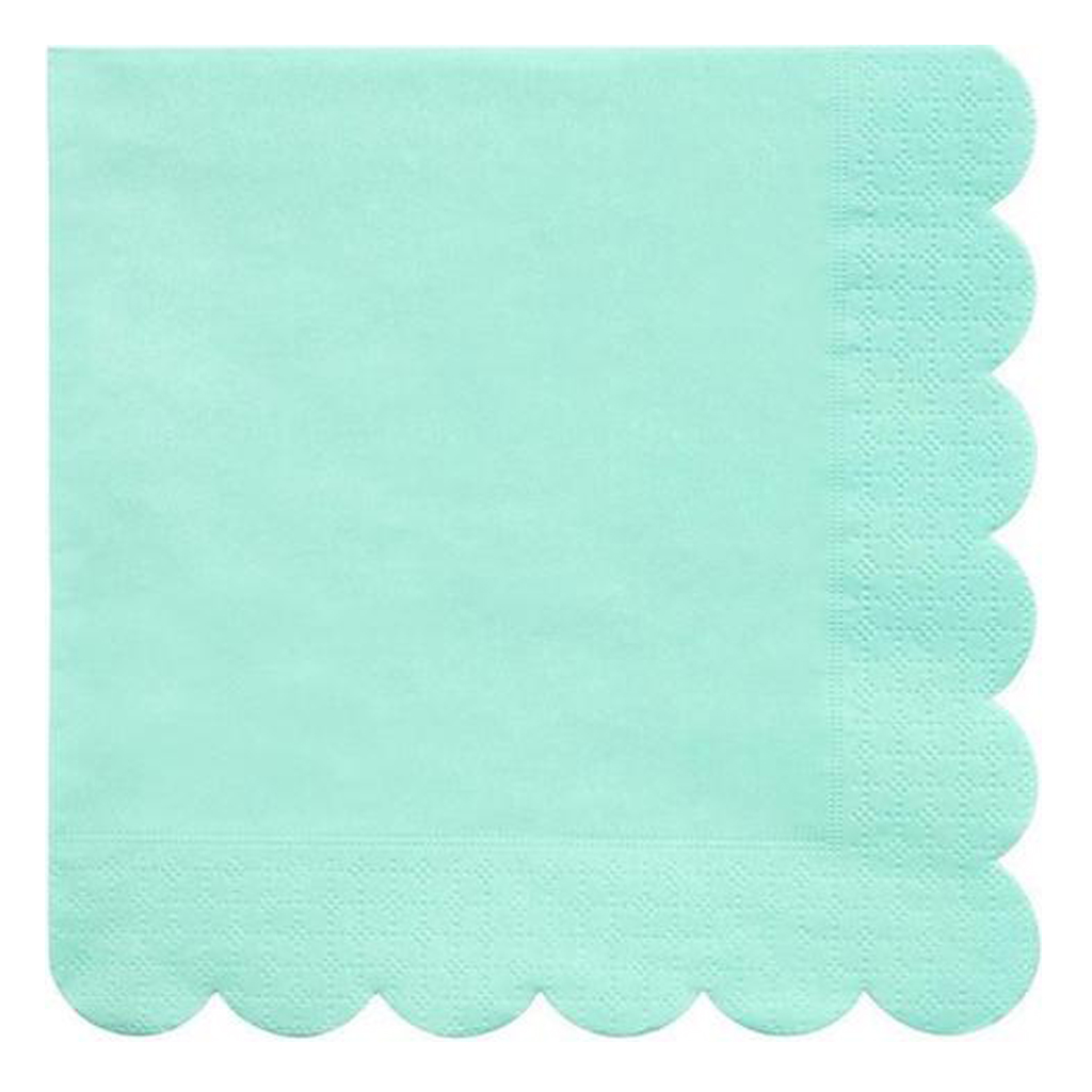 Mint Napkins from Geese & Ganders
