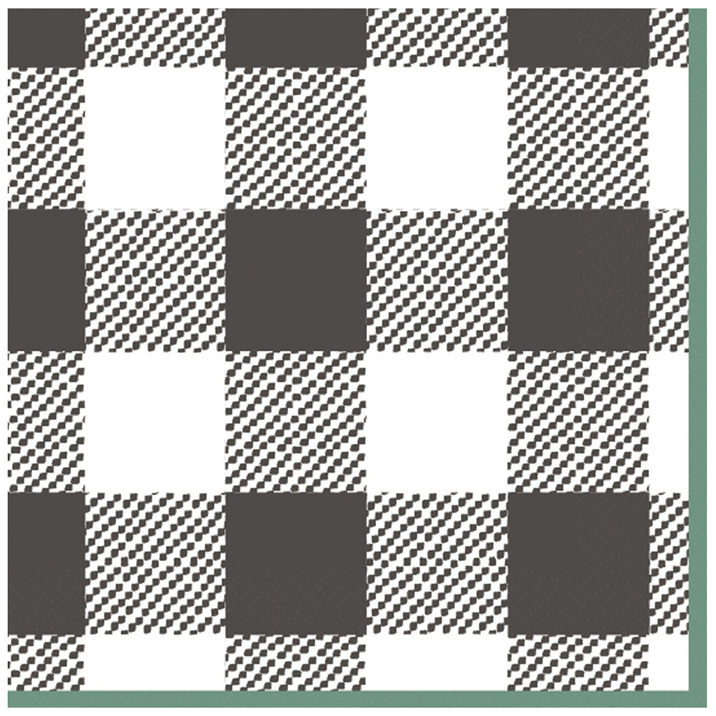 Plaid Disposable Napkin  from Target