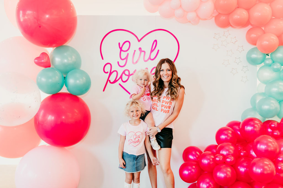 Pamelyn Rocco and daughters from Girl Power Party Styled by Bashery & Co. | Black Twine