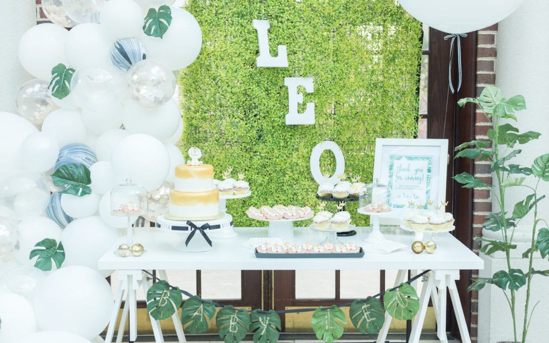 Jungle Themed Baby Shower by Nov by Christina