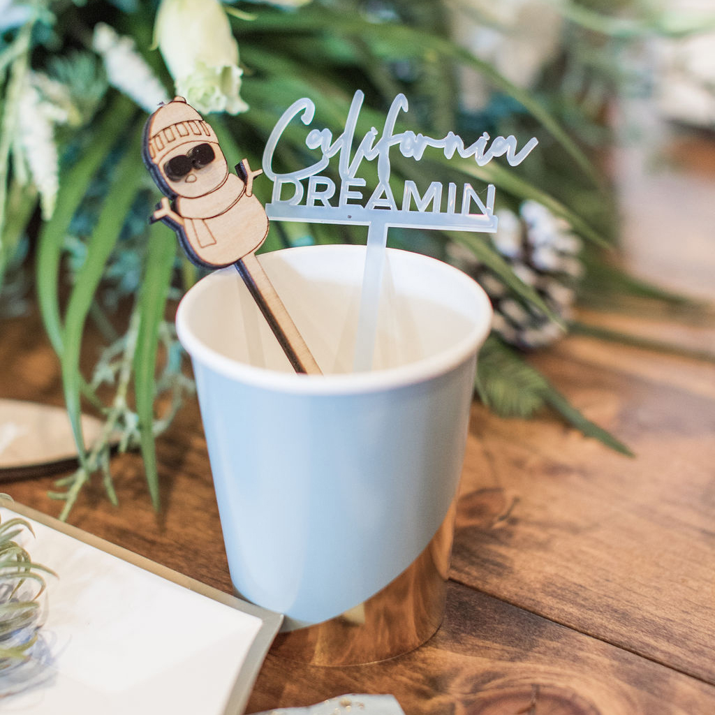 Custom Drink Stirrers from Creative Amme
