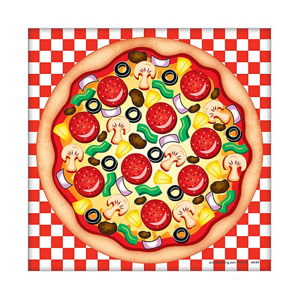 Pizza Sticker from Oriental Trading