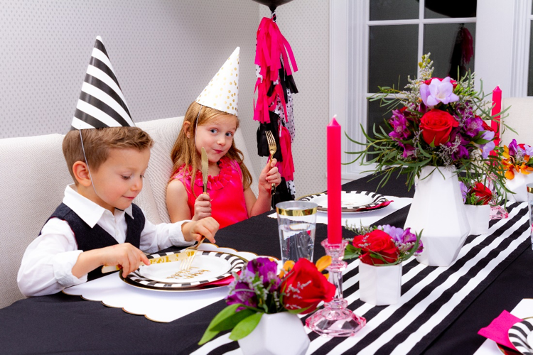 Top Three Tips for Sophisticated, Kid-Friendly Entertaining from Sprinkles and Confetti