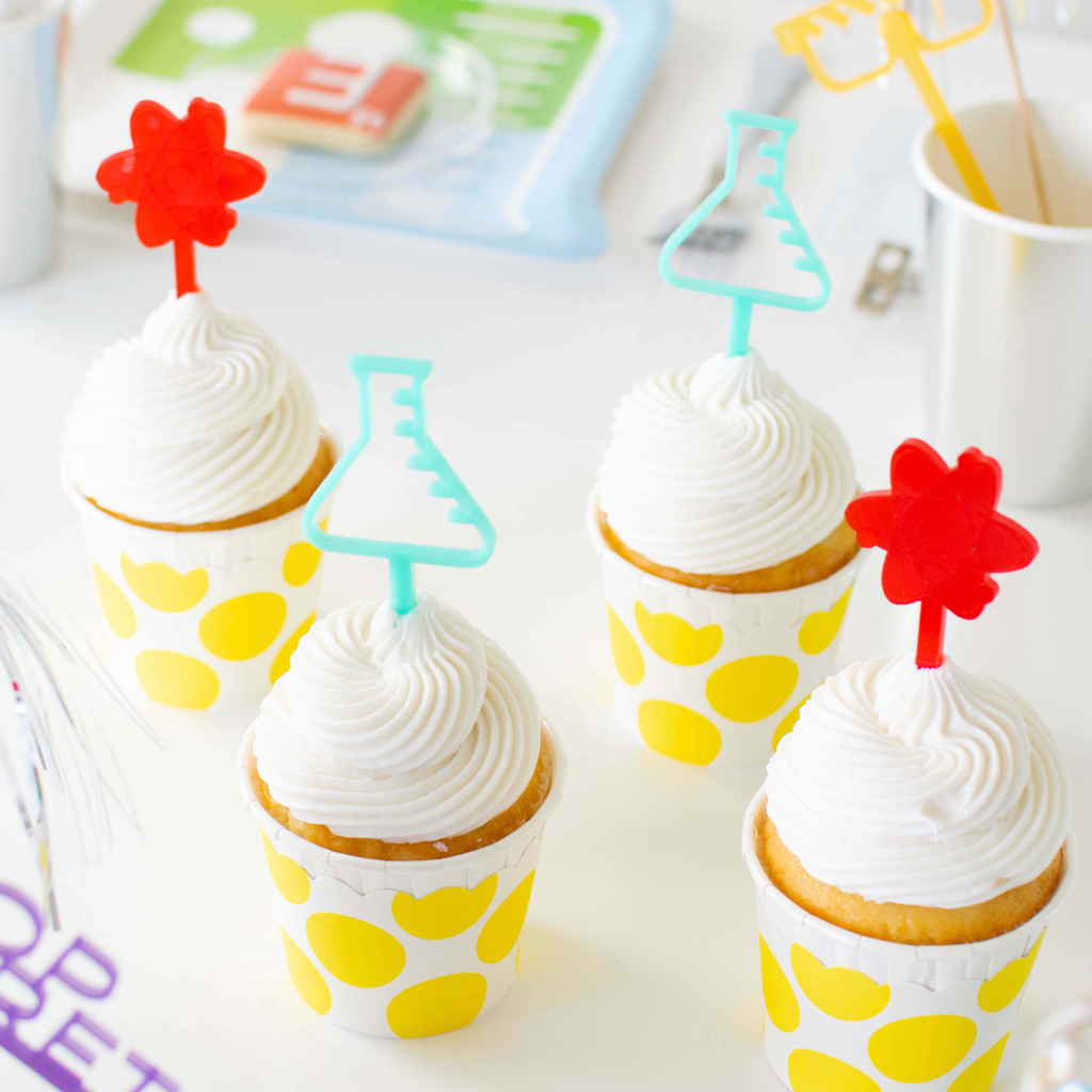 Acrylic Cupcake Toppers