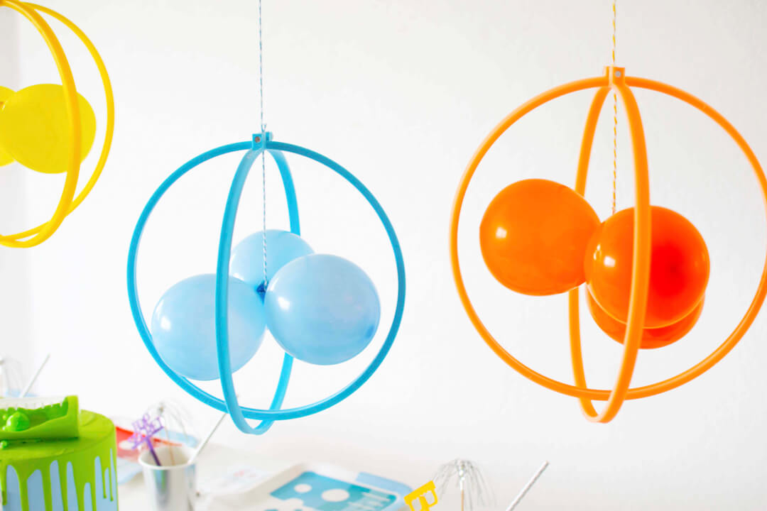 Balloons from Mad Scientist Party In Collaboration with Twinkle Twinkle Little Party | Black Twine