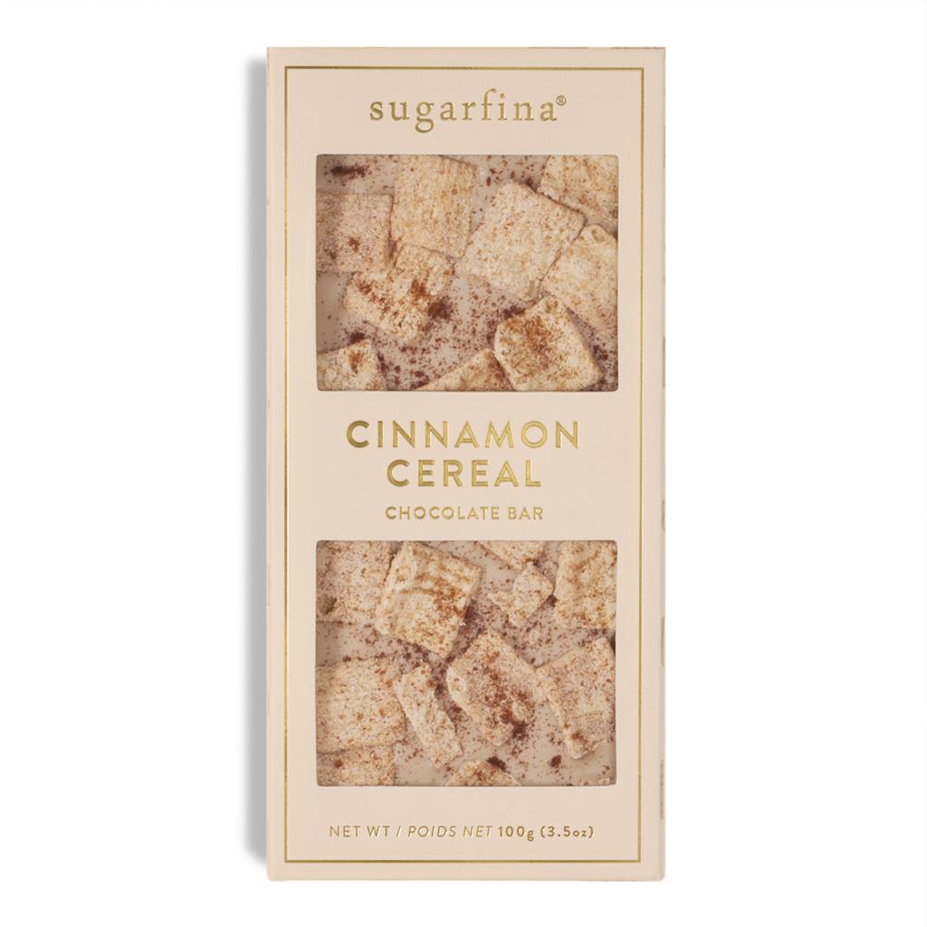 Favors: Cinnamon Cereal Chocolate Bar