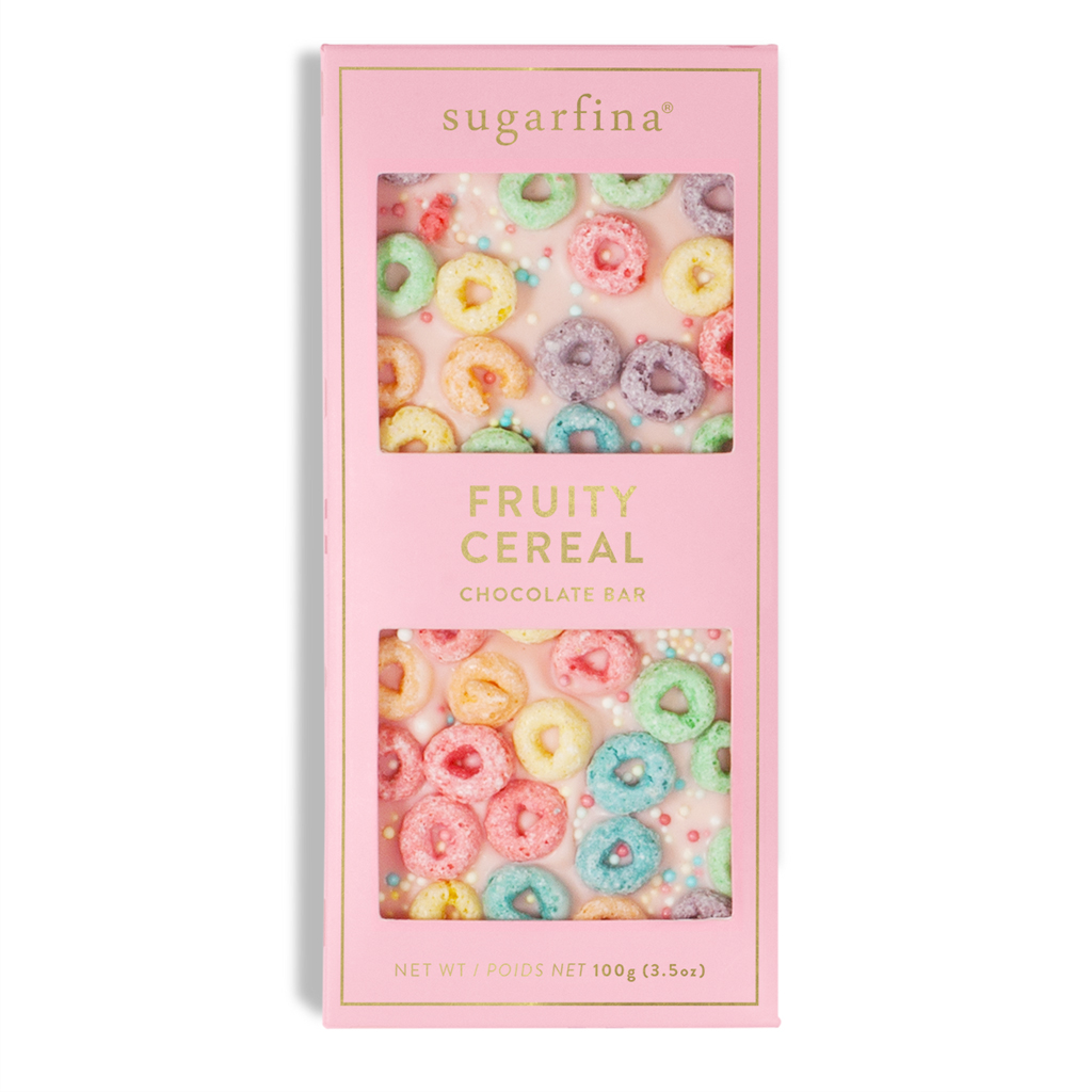 Favors: Fruity Cereal Chocolate Bar
