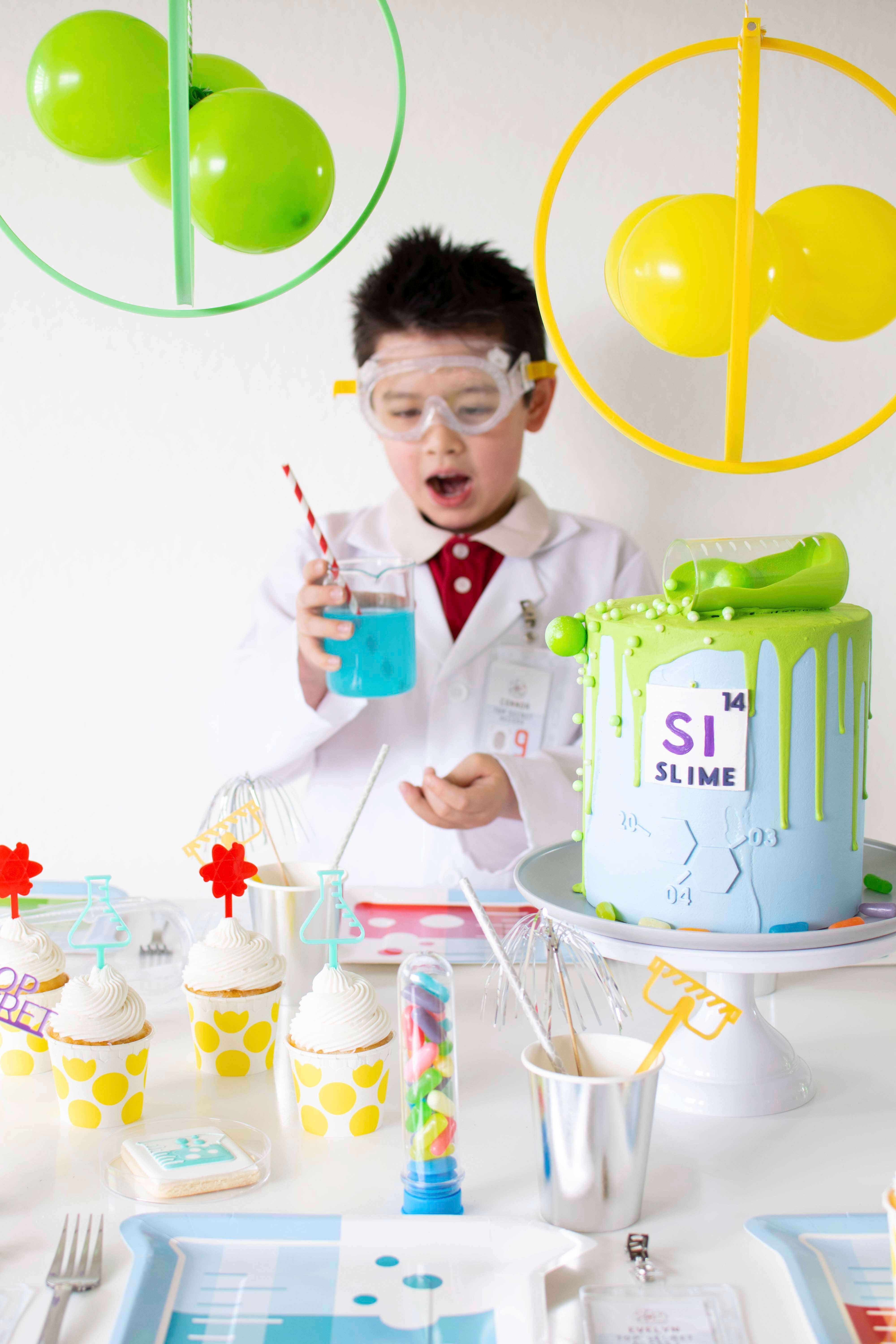 Mad Scientist from Mad Scientist Party In Collaboration with Twinkle Twinkle Little Party | Black Twine