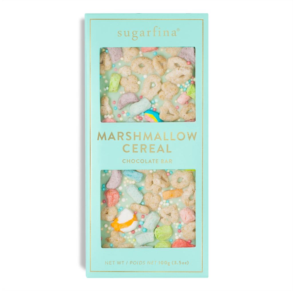 Favors: Marshmallow Cereal Chocolate Bar