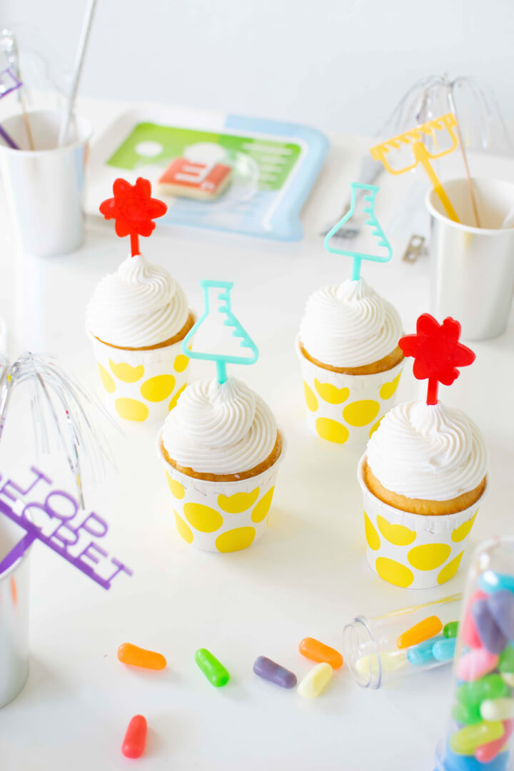 Muffin Toppers from Mad Scientist Party In Collaboration with Twinkle Twinkle Little Party | Black Twine
