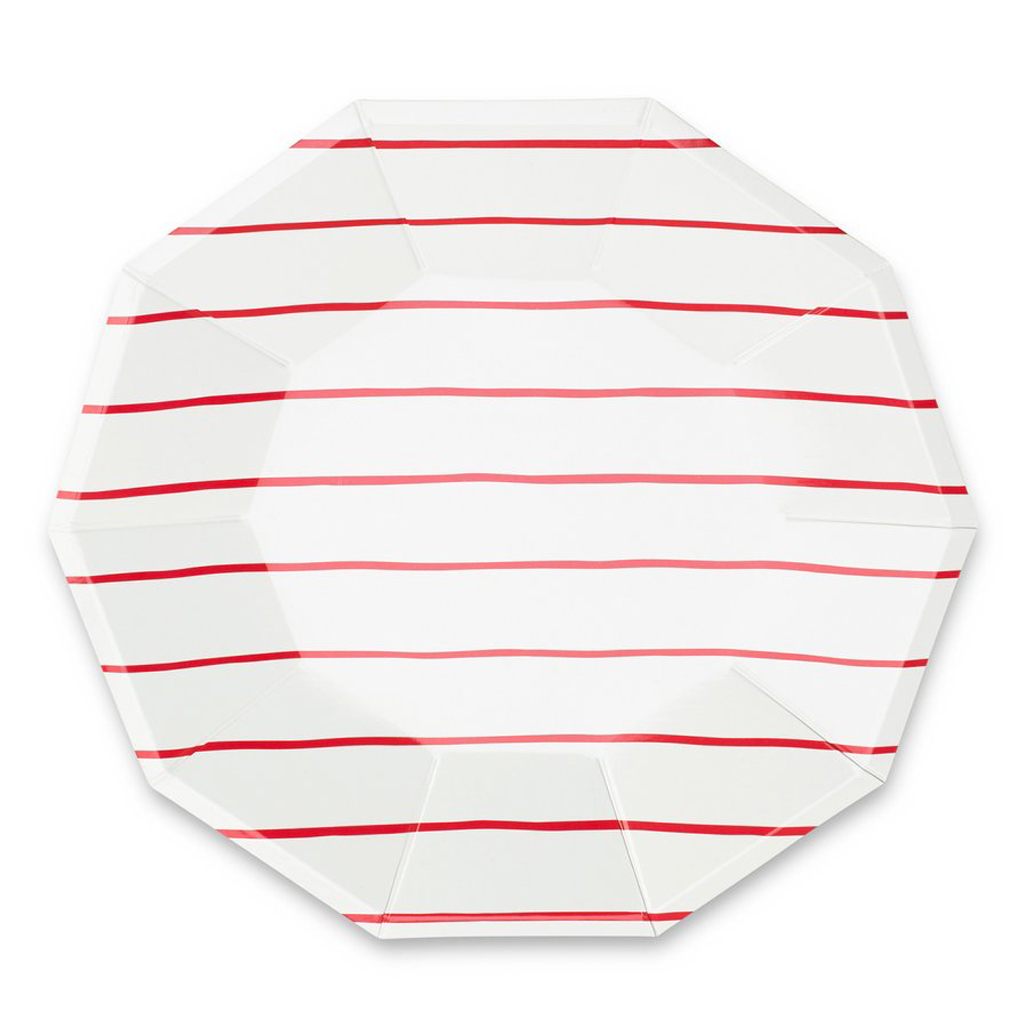Striped Plates