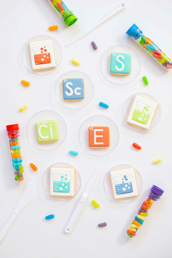 Sugarfina Sweet Periodic Elements from Mad Scientist Party In Collaboration with Twinkle Twinkle Little Party | Black Twine