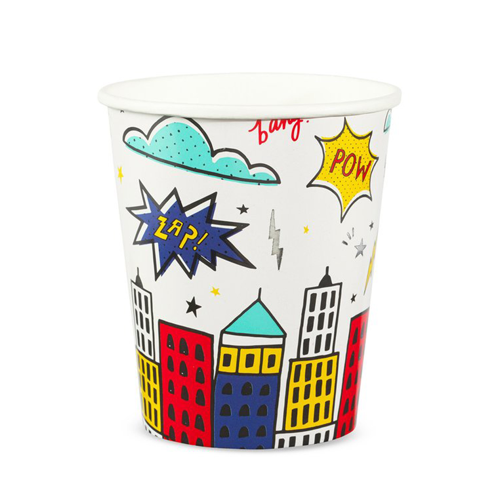 Superhero Party Cups